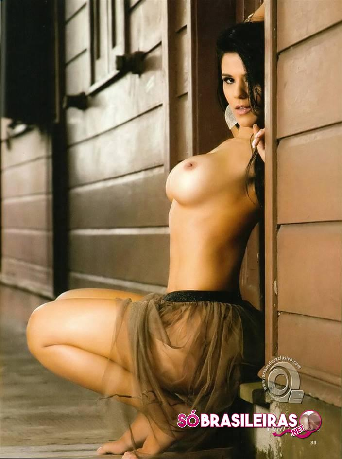 Eva Andressa morena sarada pelada