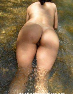 Minha esposa morena tesuda fim de semana aprontando no rio peladinha
